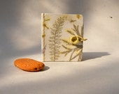 Mini journal book - Handmade paper, OOAK
