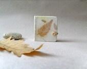 Mini Elfs journal- Handmade paper, OOAK