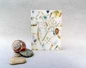 Rain forest Journal book, handmade paper , OOAK