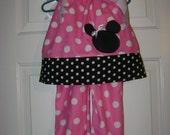 Pillowcase Bloomer Minnie Mouse Set
