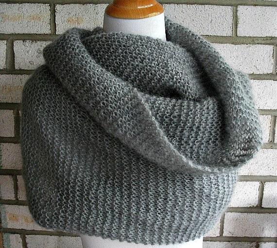 SALE Mohair Silk Shawl Wrap Cowl Scarf Luxury Gift