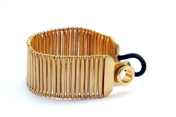 Gold Plated Sterling Silver Bracelet Unique jewelry coordinate bracelet Egyptian Bracelet  for Woman
