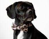 Ginko Leaf Dog Bowtie Collar