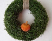 Custom Listing Moss Wreath for Julie Leal