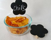 Chalk Board Clothes Pin Clips Organize and Lable