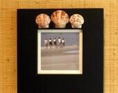 Shell frame black, square