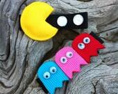 Pac Man Attach... Ribbon Sculpture Set