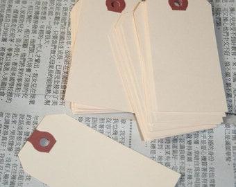 SALE blank shipping TAGS large KRAFT manilla tags 50 qty