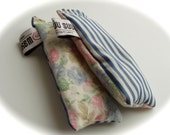 Handmade Lavender Cedar Sachet Snuffies Vintage Cotton Boho Chic Mother's Day