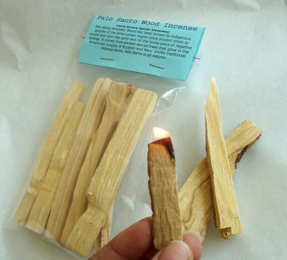 Palo Santo Wood Incense, Eco Friendly, Urban Shaman, Spirit, South America, smudge