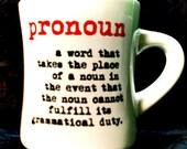 GrammarWare Pronoun MUG