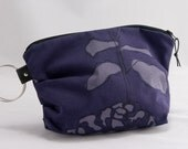 Super Sale - Stella clutch / purse in purple