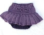 SALE Knit Wool Skirty Size Medium