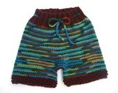 Knit Wool Shorties Medium