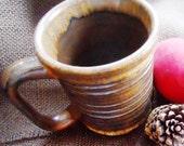 Brown Textured Mug