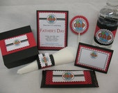 World's Greatest Dad Father's Day Party Favor Box handmade Set of 10