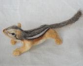 Perky - Chipmunk Shoulder Pet