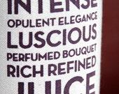 Wine Is Poetry Organic Bottle Tote