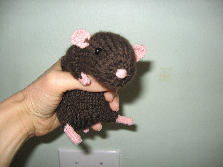 Realistic Hamster Knitting Pattern