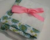 Lovey Blanket - Sweet Snails Lovey Blanket