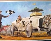 1911 Blitzen Benz Race Car 23 World Records Daytona Beach