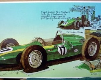 1961 Cooper Climax Rear Engine Jack Brabham Race Car