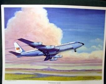 1964 Presidential Jet Airlift Boeing VC 137C C135B USAF 1