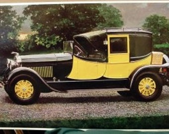 1927 Lincoln Carriage Body by Judkins Classic Motor Car with Wicker Basket
