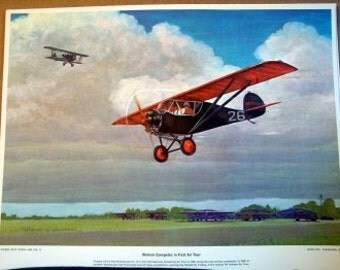 1928 Phoebe Omlie Monocoupe No.26 Indiana Woman Aviator Lady Pilots
