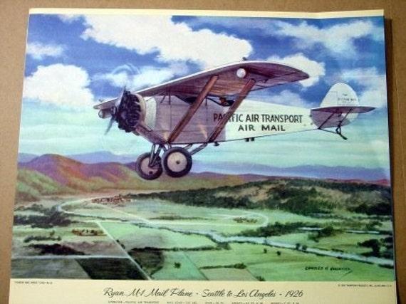 1926 USPS Ryan M1 Mail Plane Pacific Air Transport