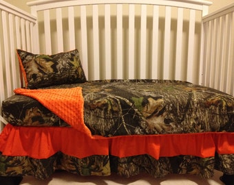 Camo Realtree With Lime Amp Pink Baby Crib Bedding Set With
