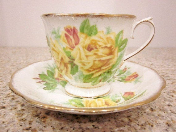 SALE Royal Albert Tea Rose tea cup