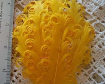 Golden Yellow Nagorie Feather Pad