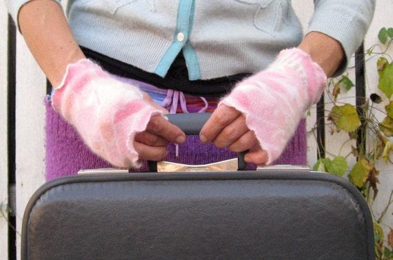 Eco Friendly Fingerless Wristlettes/Hand Warmers