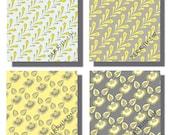 Digital Collage Sheet - 3 Inch Squares -  Digital Art - Instant Download -  12 Designs - Deco - Printables - Modern   PP 3