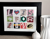 L is for Love- Photographic Alphabet Collage