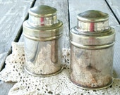 english silver canisters RESERVED for ichibann