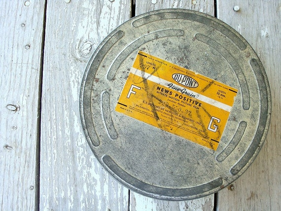 old film reel canister