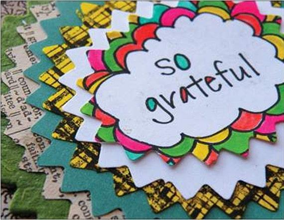 Gratitude Postcard - (1) So Grateful