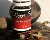 Noon Fire - A wearable scent memory - artisan oil - smoke, tabacco, cotton, fresh cut wood, coffee