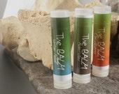 Arctic Trinity....Set of three Arctic essential lip balms