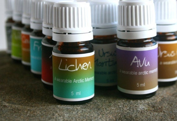 Set of four Wearable Scent Memories - A scent for every whim