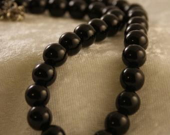 Black Onyx Necklace - 2.00 Off