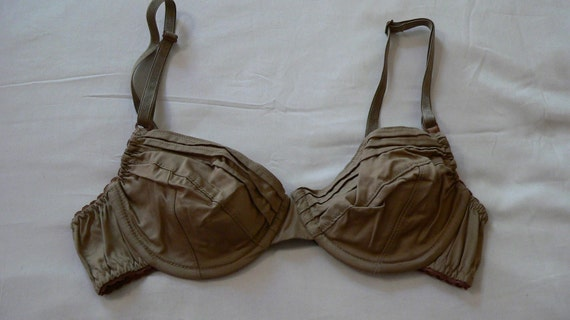 Organic cotton Mocha Ande bra -last one -36A- SALE