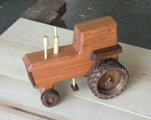 Classy Wooden Toy Tractor