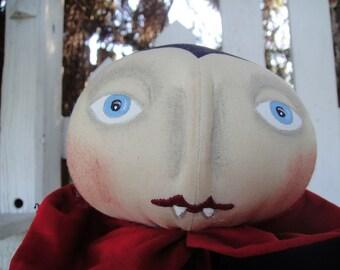 Primitive Halloween Vampire Doll