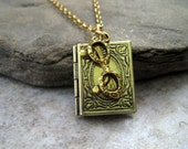 The Librarian Necklace By Metals And Time