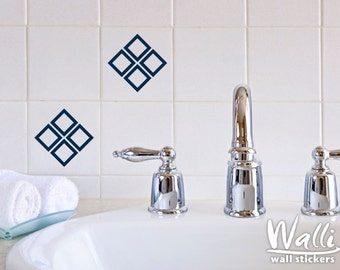 Squares Design for Tile Decor