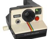 Hacked Polaroid Doorag. Circuit-bent instrument