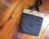 Small Vintage Silk Tote or Purse